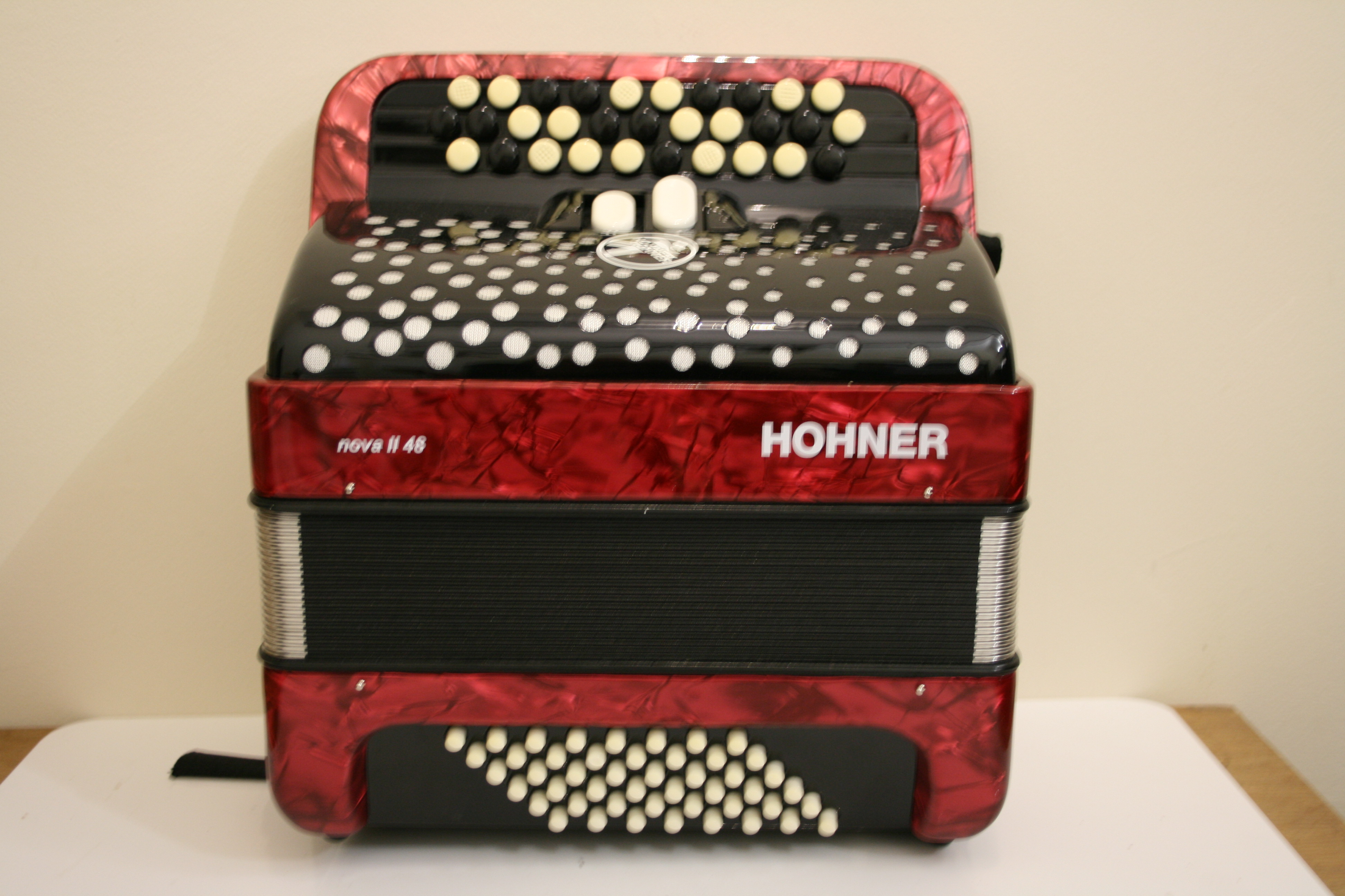 Pre-loved Hohner C System accordion