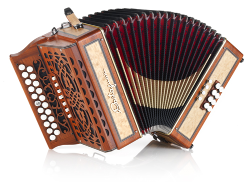 Castagnari Trilly (Padouk with figured Maple panels)